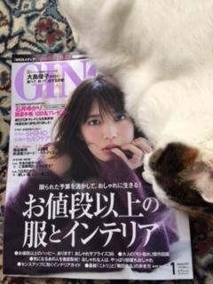 11月23日発売『GINGER 1月号』